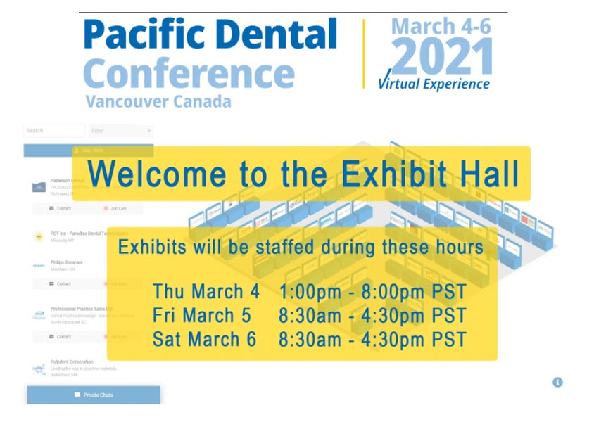 Pacific Dental Conference March 4-6, 2021