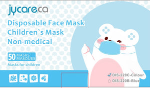 JY Care Disposable Non-Medical Children's Mask
