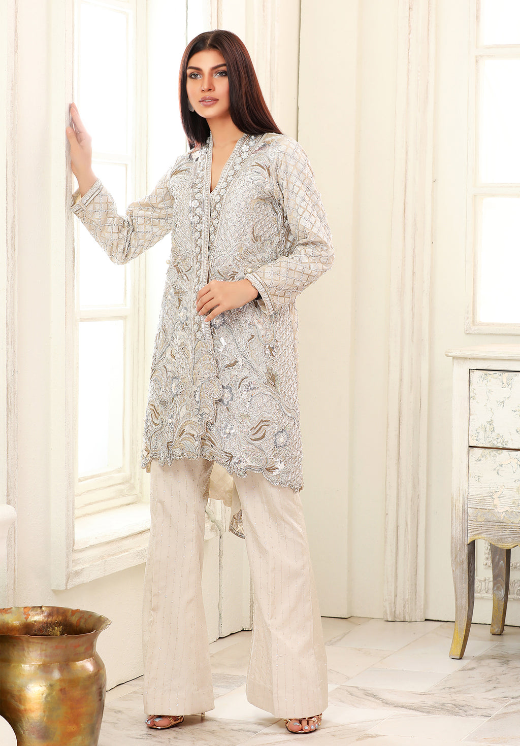 (SKU-1004)-3 PIECE ATTIRE (Jacket Slip & Pant)