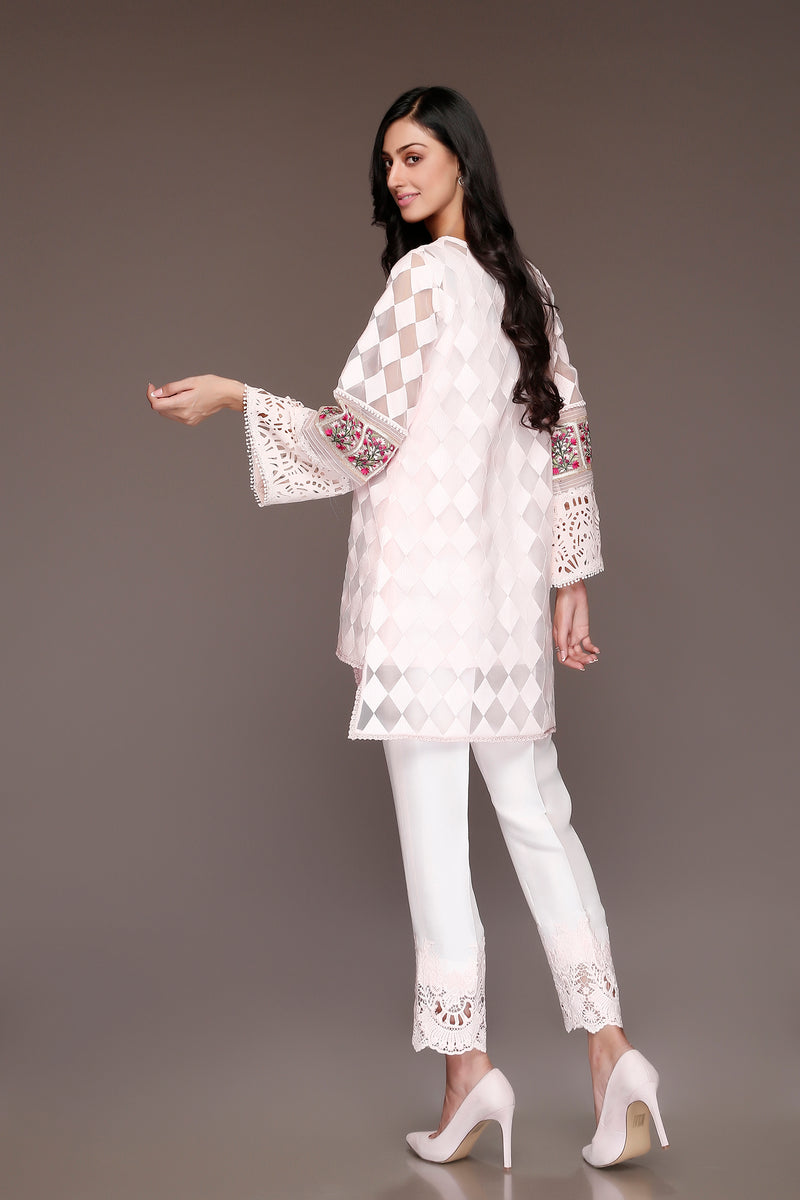(SKU-1047)-2 PIECE ATTIRE-SHIRT & SLIP