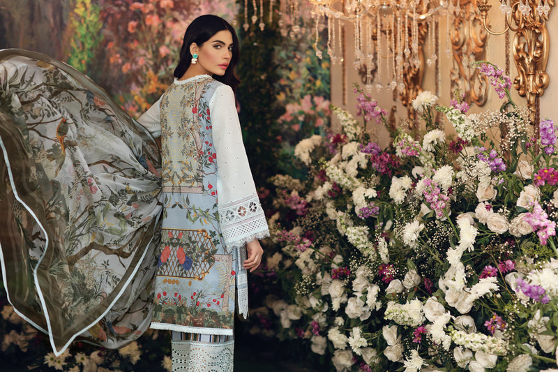 Palm Spring Bloom (From (Un-stitched)-Sale Price 4250/- (Stitched price detail in description)