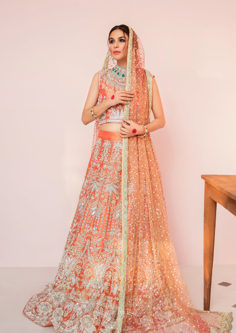 Style # 1350-Bridal (2Piece Rs.355000/-)(Dupatta on request)