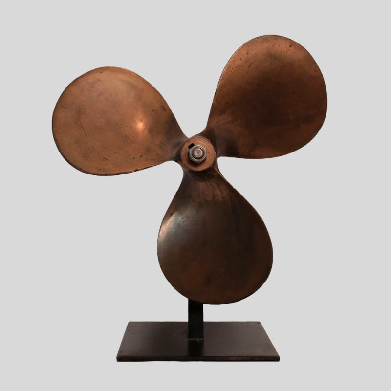 Late 19th Century Solid Brass Propeller