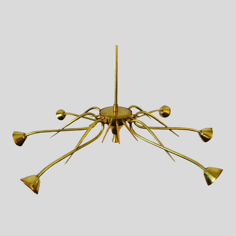 Sputnik Atomic Chandelier In The Style Of Jean Royere