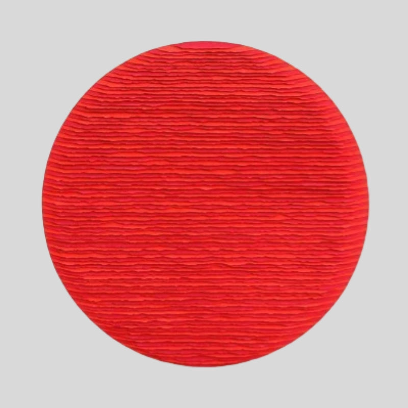 Striped Red Circle Two-tone By Fernando Daza