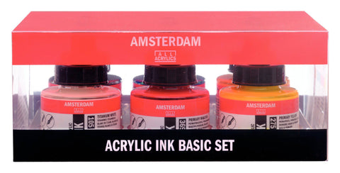 Amsterdam Acrylic Ink Set 6 X 30 ml