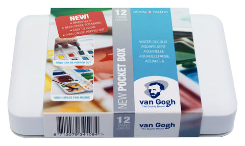 Van Gogh Aquarelverf Pocket Box 20Hp8631
