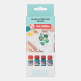 Talens Art Creat.Glas & Porselein Dekkend Set 4x30 ml