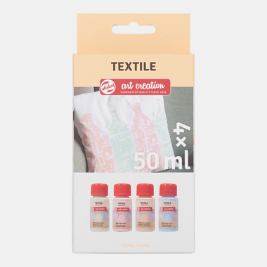 Talens Art Creation Textiel Set 4x50 ml