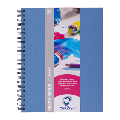 Van Gogh Mix Media Journal, A4, 160 g, 50 vellen,