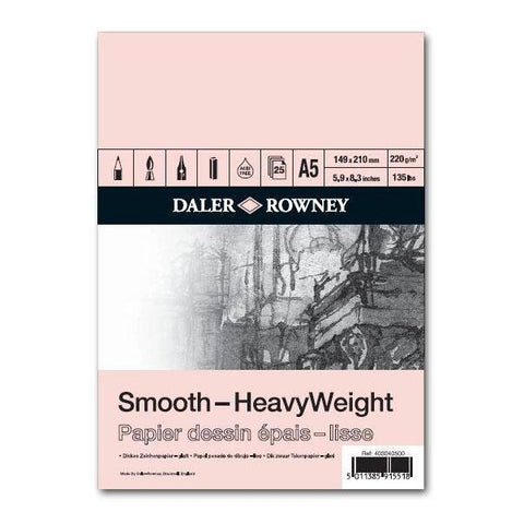 Daler-Rowney Heavy weight tekenpapier 220 gr.