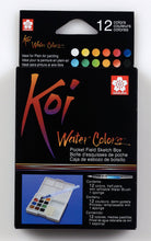 Afbeelding in Gallery-weergave laden, Sakura Koi Water Colors Sketchbox 12