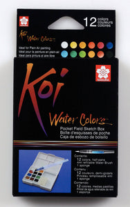 Sakura Koi Water Colors Sketchbox 12