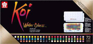 Sakura Koi Water Colors Sketchbox 72 + Waterbrush