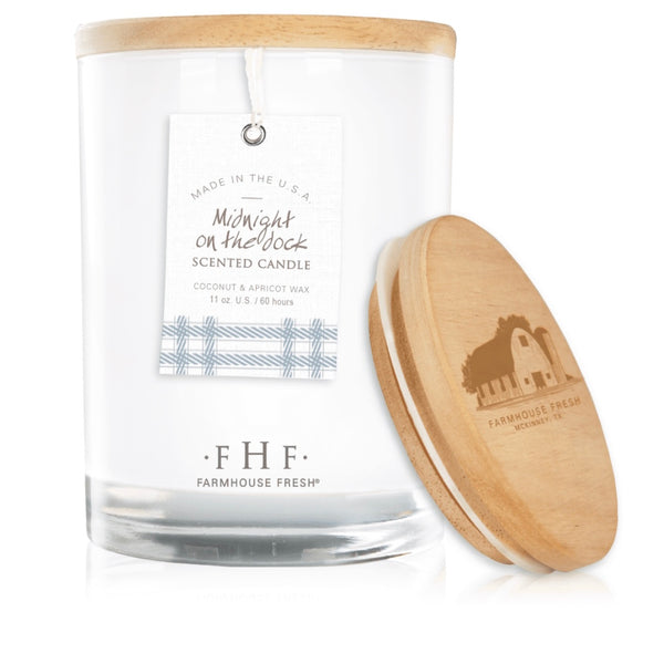 Farmhouse Fresh Midnight on the Dock Candle