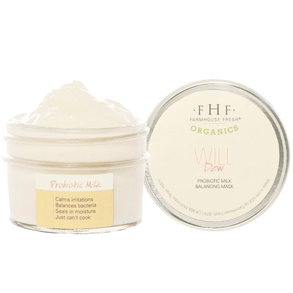 Farmhouse Fresh Will Dew Organic Probiotic Milk Balancing Mask