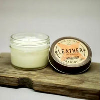 Leather 4oz Soy Candle
