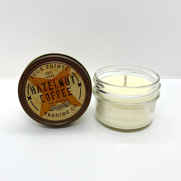 Hazelnut Coffee 4 oz Soy Candle