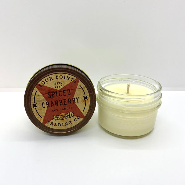 Spiced Cranberry 4 oz Soy Candle - LIMITED EDITION