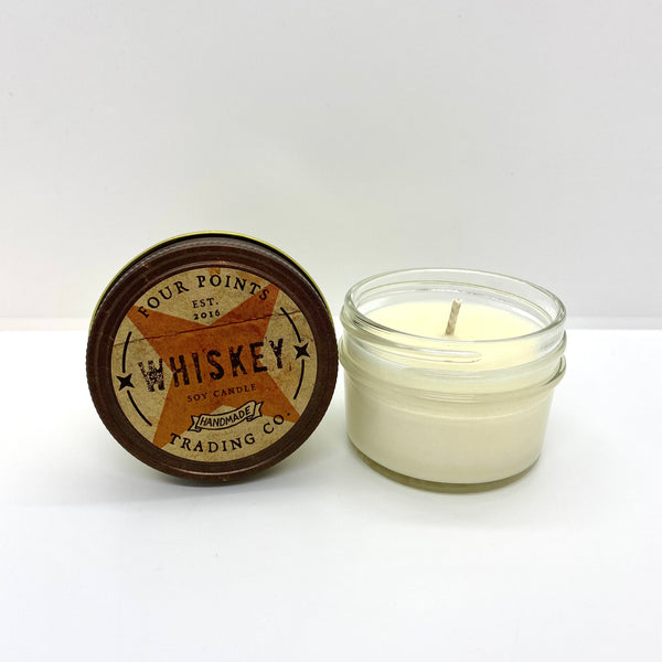 Whiskey 4 oz Soy Candle