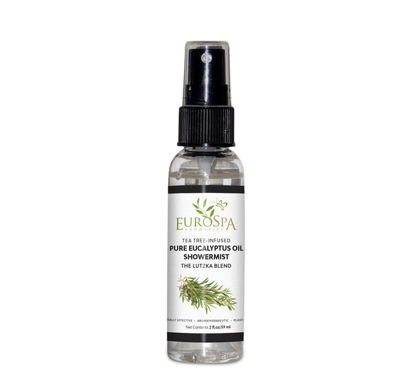 EuroSpa Tea Tree-Infused Eucalyptus Shower Mist