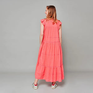 AMBER DRESS - CORAL