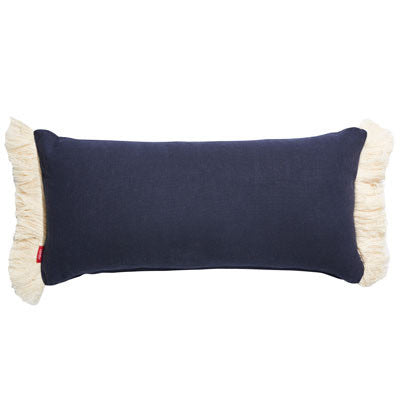 NAVY STRIPE CUSHION
