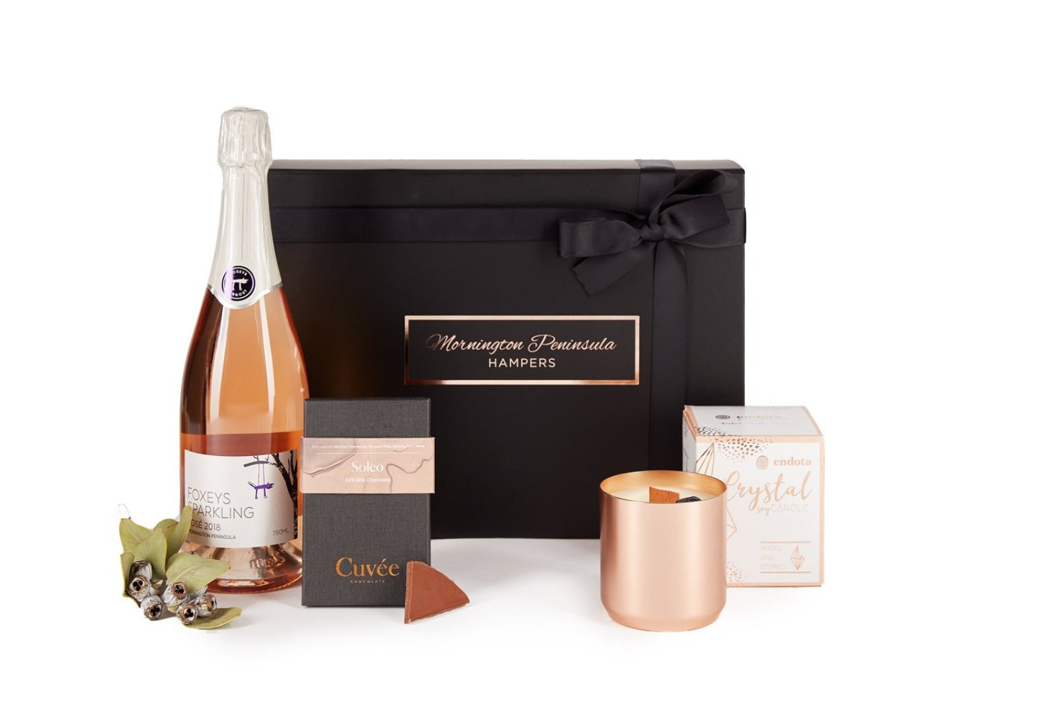 Sparkling Crystal Love | Mornington Peninsula Hampers | Local Suppliers
