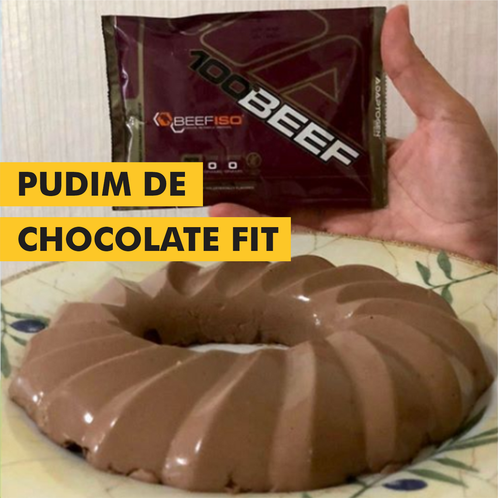 PUDIM DE CHOCOLATE FITNESS