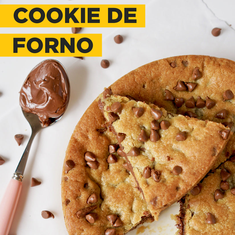 COOKIE DE FORNO COM WHEY