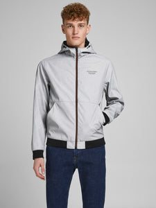 JJESEAM Jacket - light grey melange