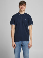 Afbeelding in Gallery-weergave laden, JJEJERSEY Polo shirt - navy blazer