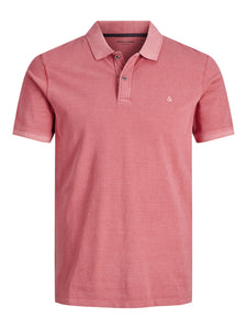 JJEWASHED Polo shirt - slate rose