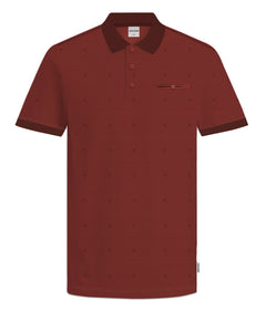 JCOBARBAR Polo shirt - red ochre
