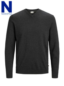 Basic Knit V-neck