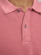 Afbeelding in Gallery-weergave laden, JJEWASHED Polo shirt - slate rose