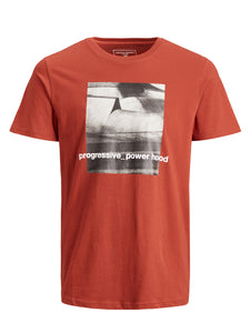 JCOJUMP T-shirt - red ochre