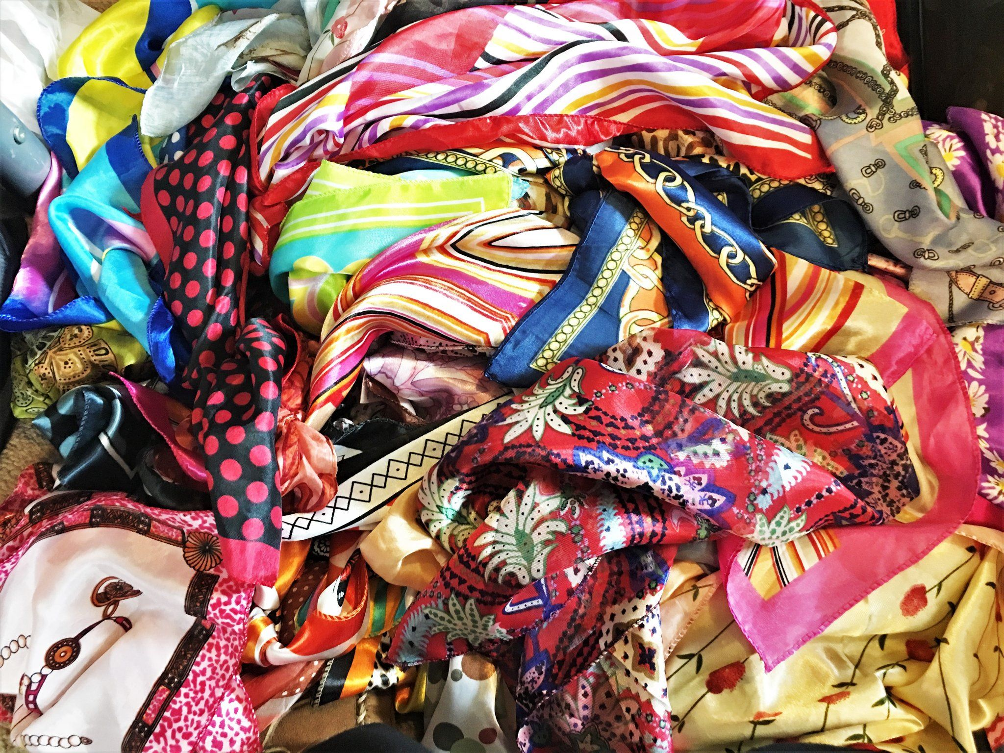 DEAL OF THE DAY - 10 Piece Scarf Grab Bag