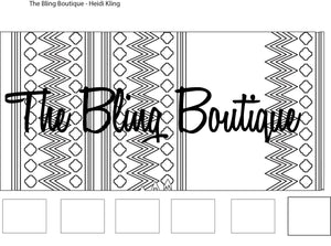Custom Bling Boutique Show Pad - Design #1