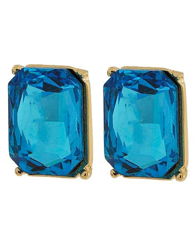 DEAL Rectangle Crystal Show Earrings (Multiple Colors Available)