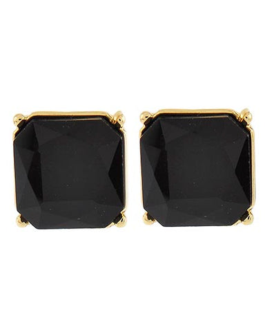 DEAL Square Crystal Show Earrings (Multiple Colors Available)