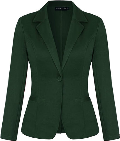 Hunter Green Show Blazer