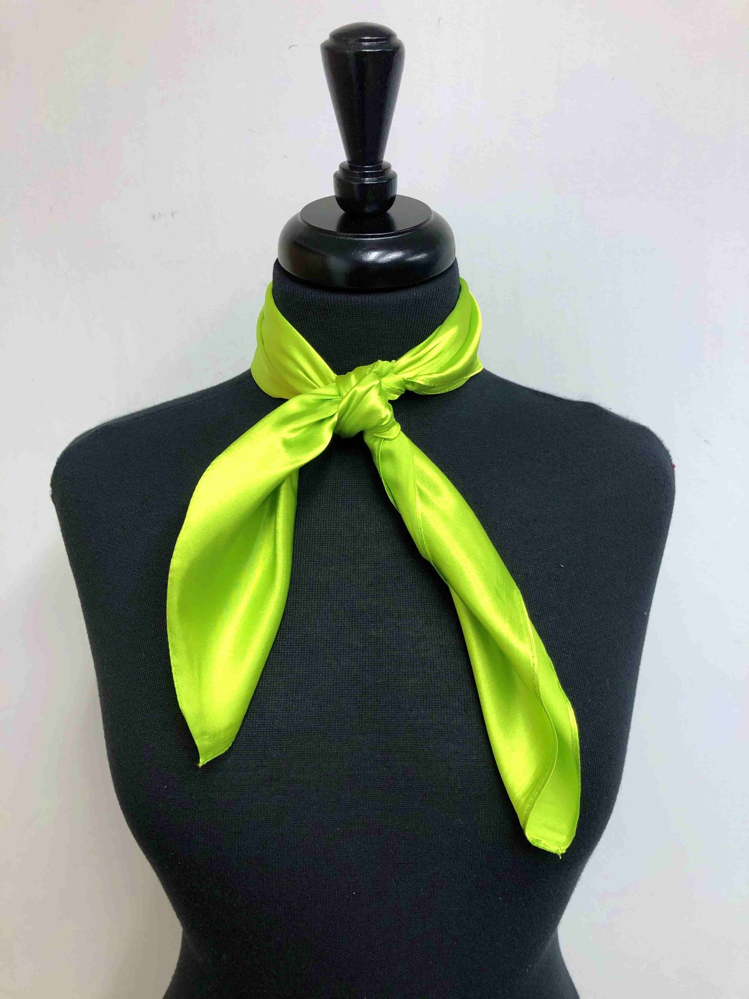 Solid Lime Green Scarf