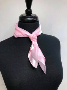 Light Pink Stripe Sheer Scarf