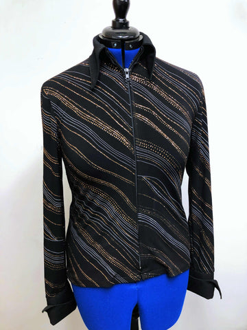 Black & Copper Deb Moyer Rail Shirt