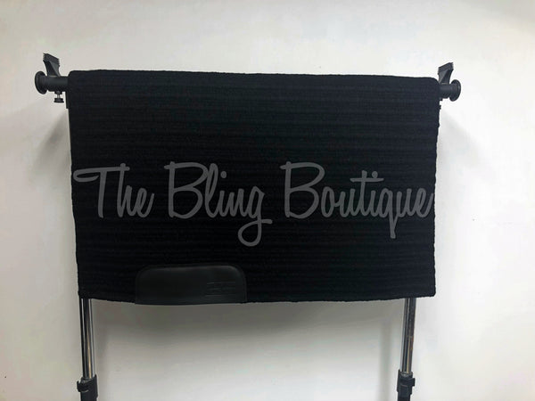 Bling Boutique Original Oversized Solid Black Show Pad