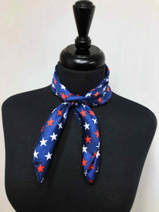 Red, White & Blue Star Scarf