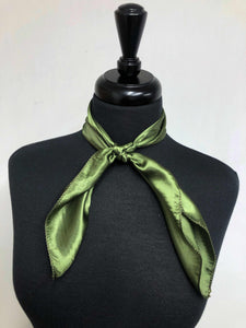 Solid Olive Green Scarf