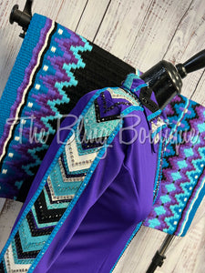 Red & Yellow Trim Scarf