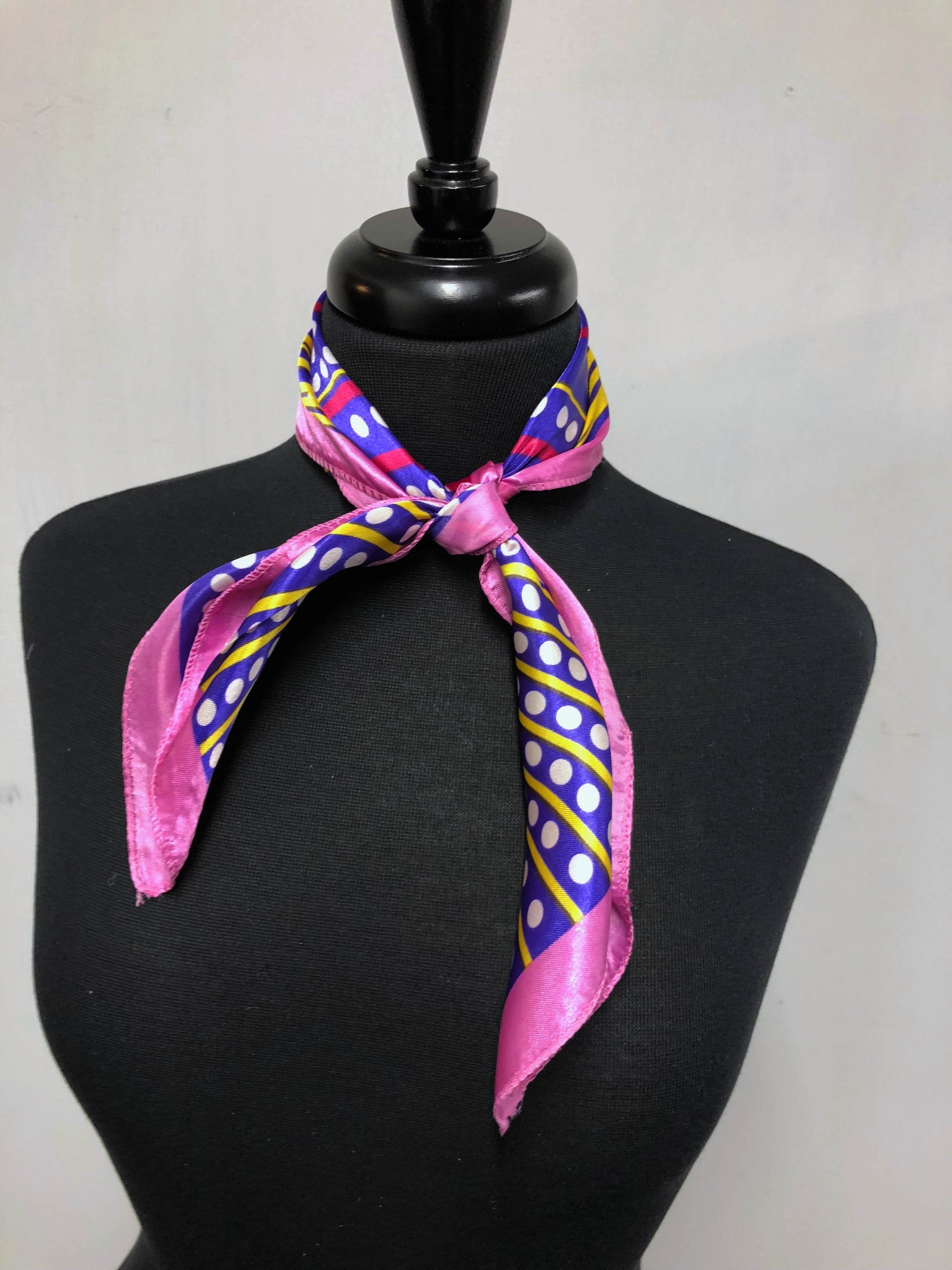 Purple, Pink & Yellow Burst Scarf